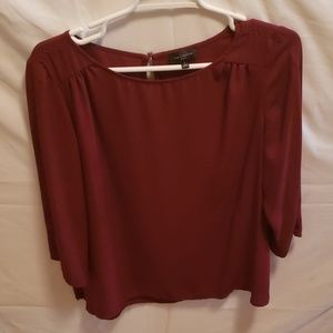 The Limited mid sleeve blouse